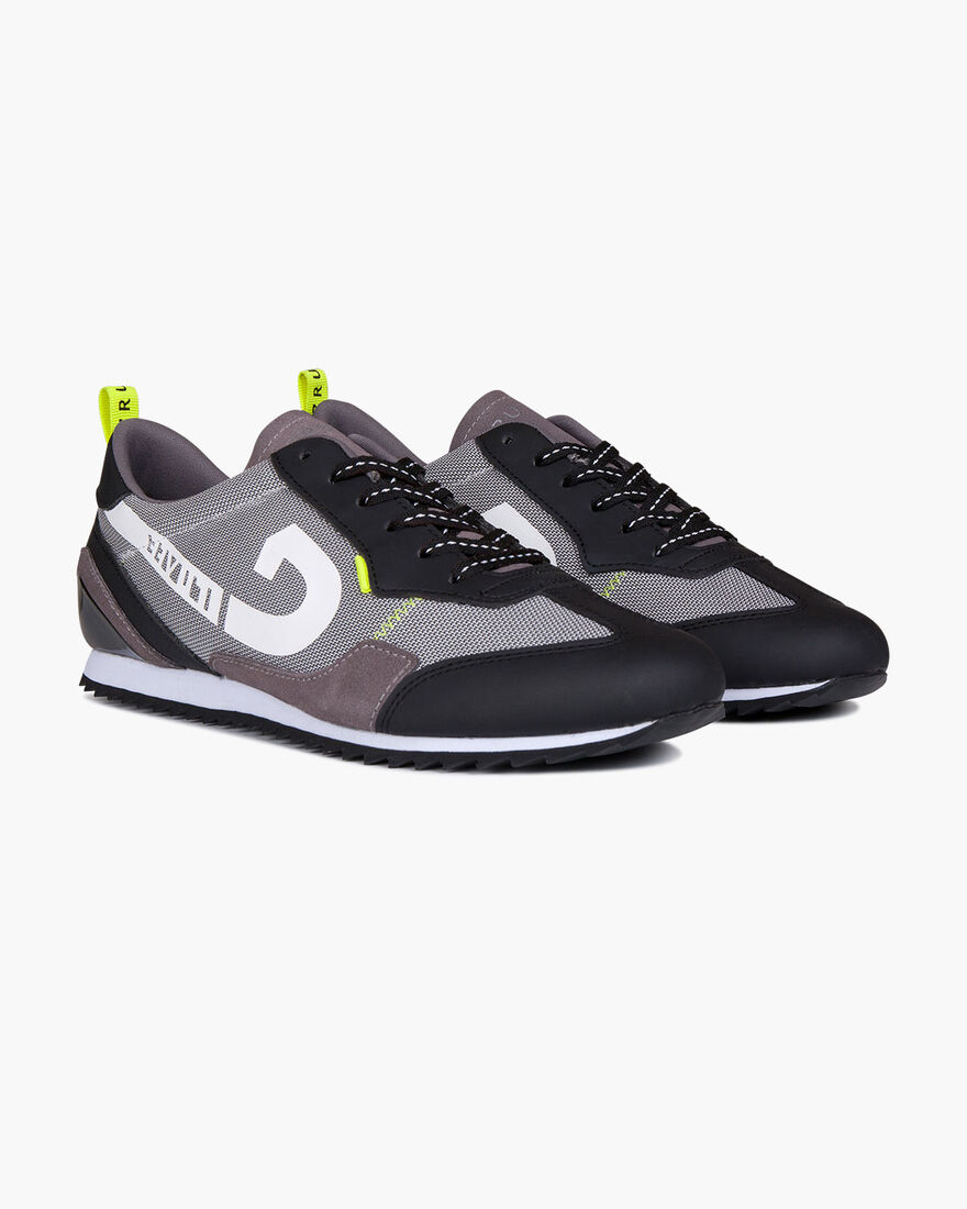 Leggera - Black/Fluo Yellow - Stealth Mesh/Suede, Grey/Miscellaneous, hi-res