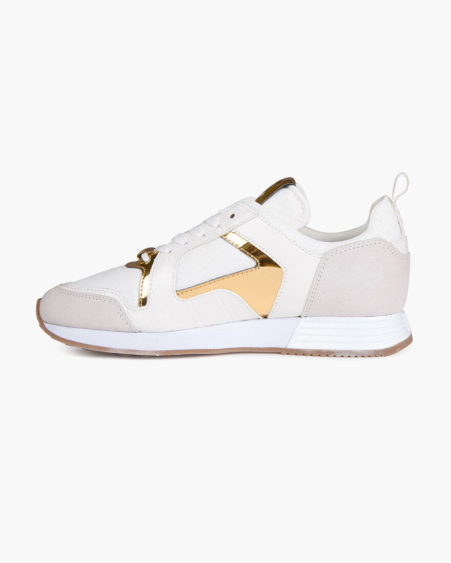 Lusso - Black - Translucent Ribstop/Dull Croco, White/Gold, hi-res