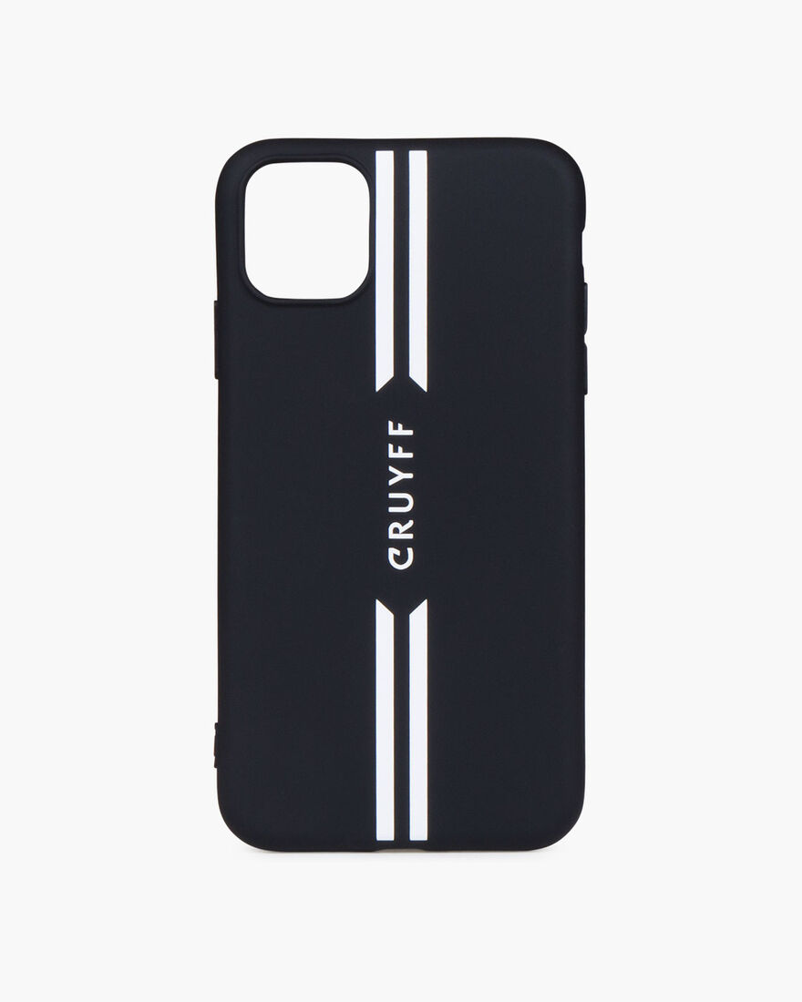 iPhone 11 Case, Black/White, hi-res