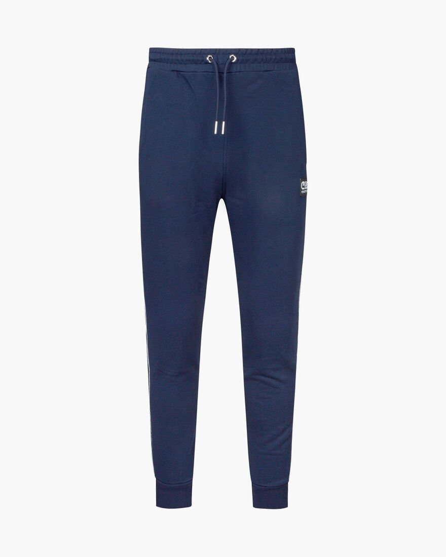 Joan track pants - Black - 80% Cotton/ 20% Polyest, Navy, hi-res