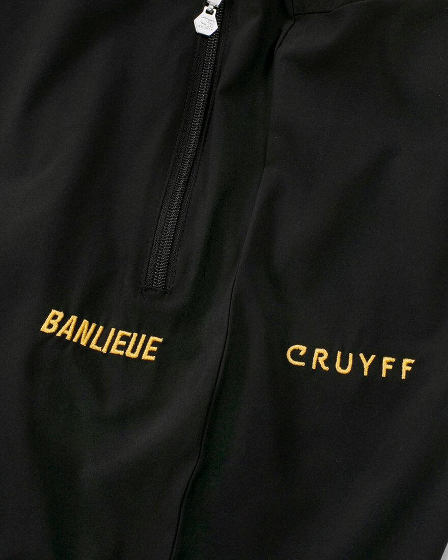 Cruyff x Banlieue Archivo  Suit - Black - 95% Poly, Black, hi-res