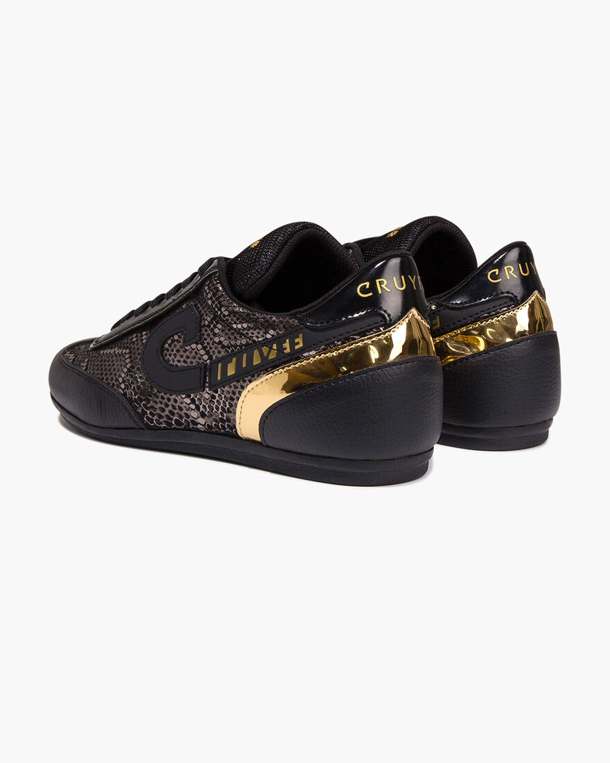 Charm - Black - Gold Rush/Tumbled, Black/Gold, hi-res