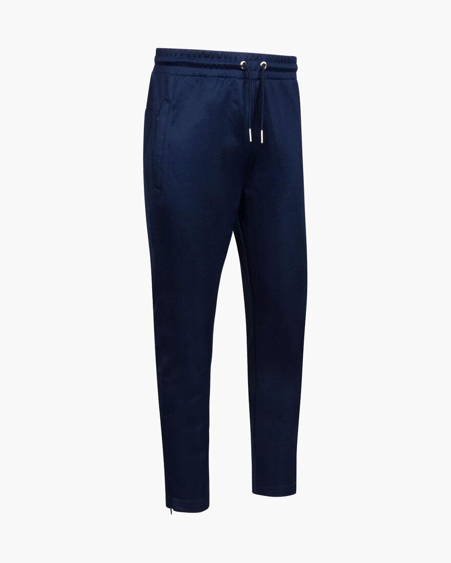 Aleix Track Pants - Navy - 65% Polyester / 35% Cot, Navy, hi-res