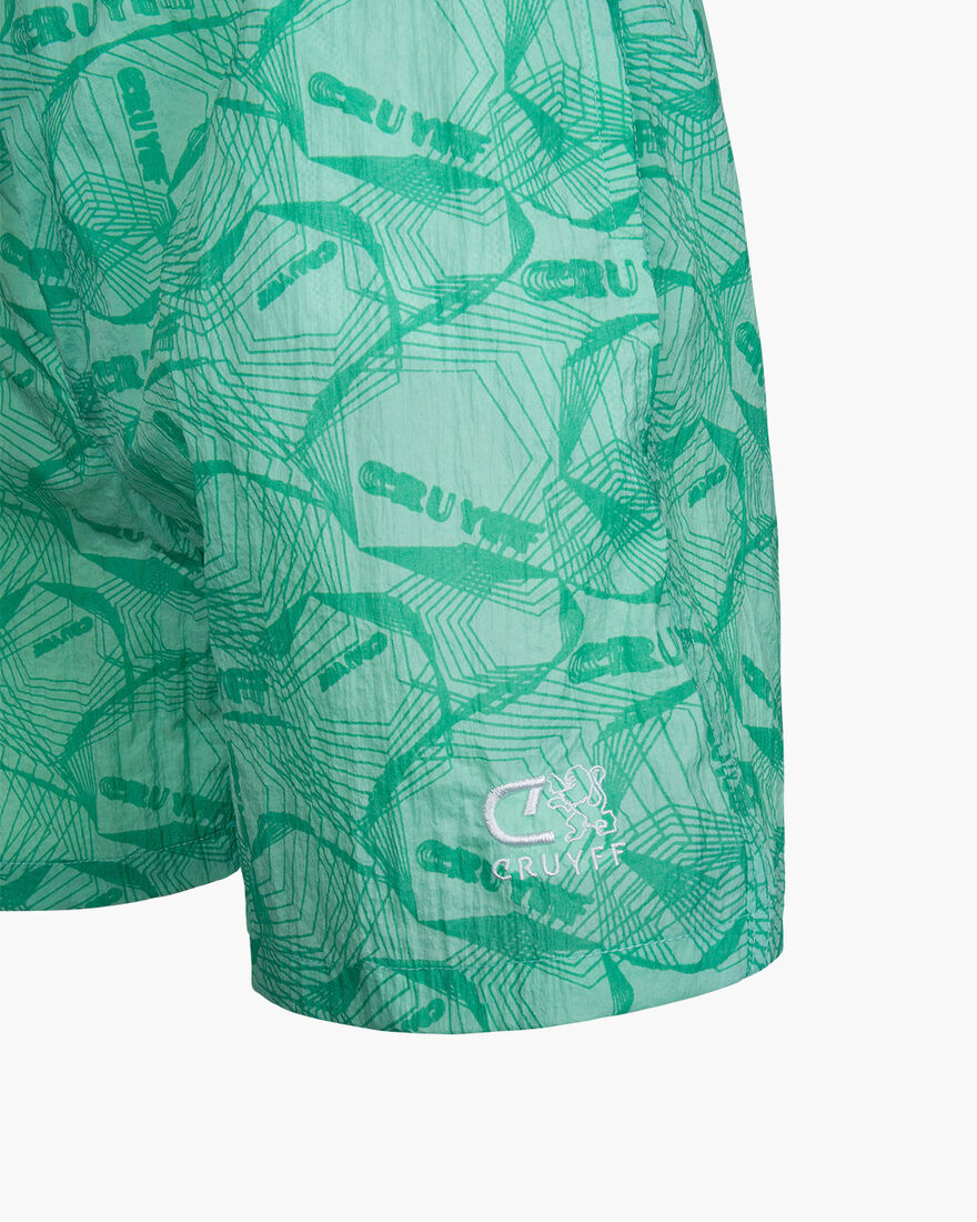 Ramir Swimshort - Orange - 95%polyster 5%elastane, Green, hi-res