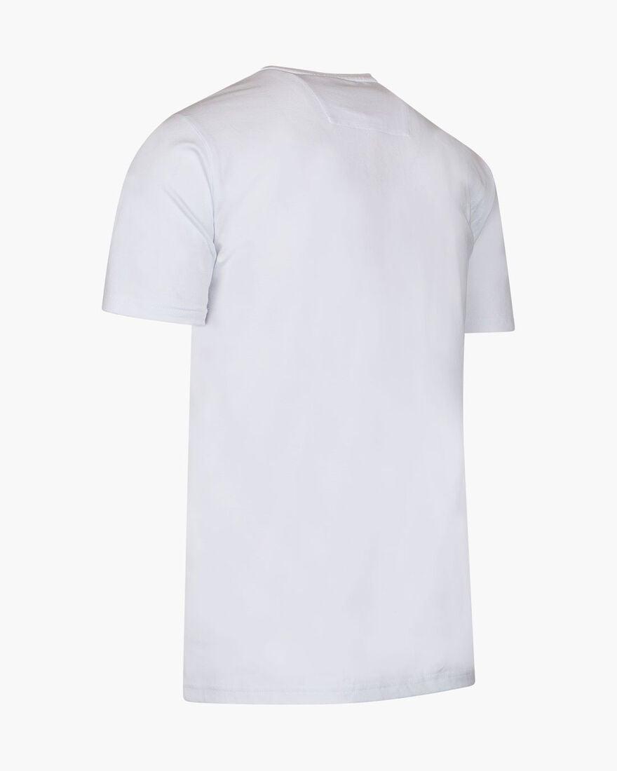 Climent SS Tee - White - 95% Cotton / 5% Elastane, White, hi-res