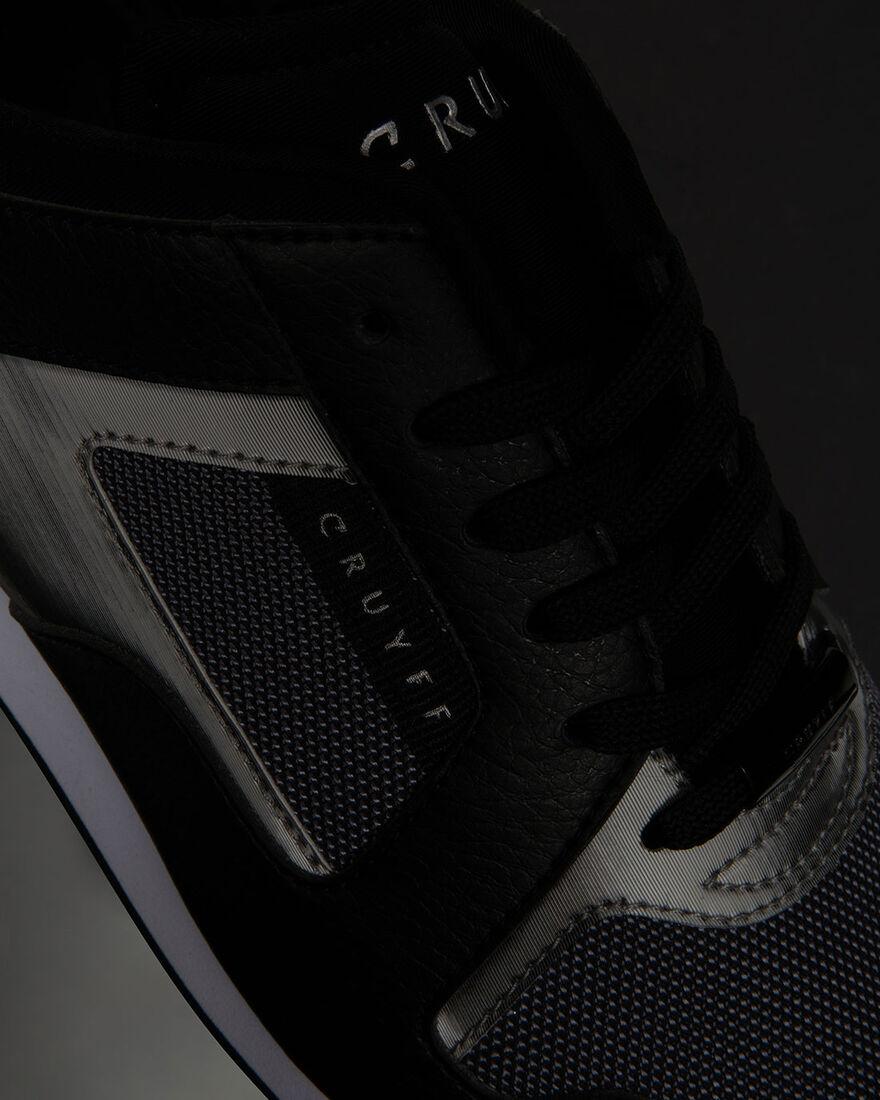 Lusso Contour - White - Geometric Mesh/Matt, Black/Black, hi-res
