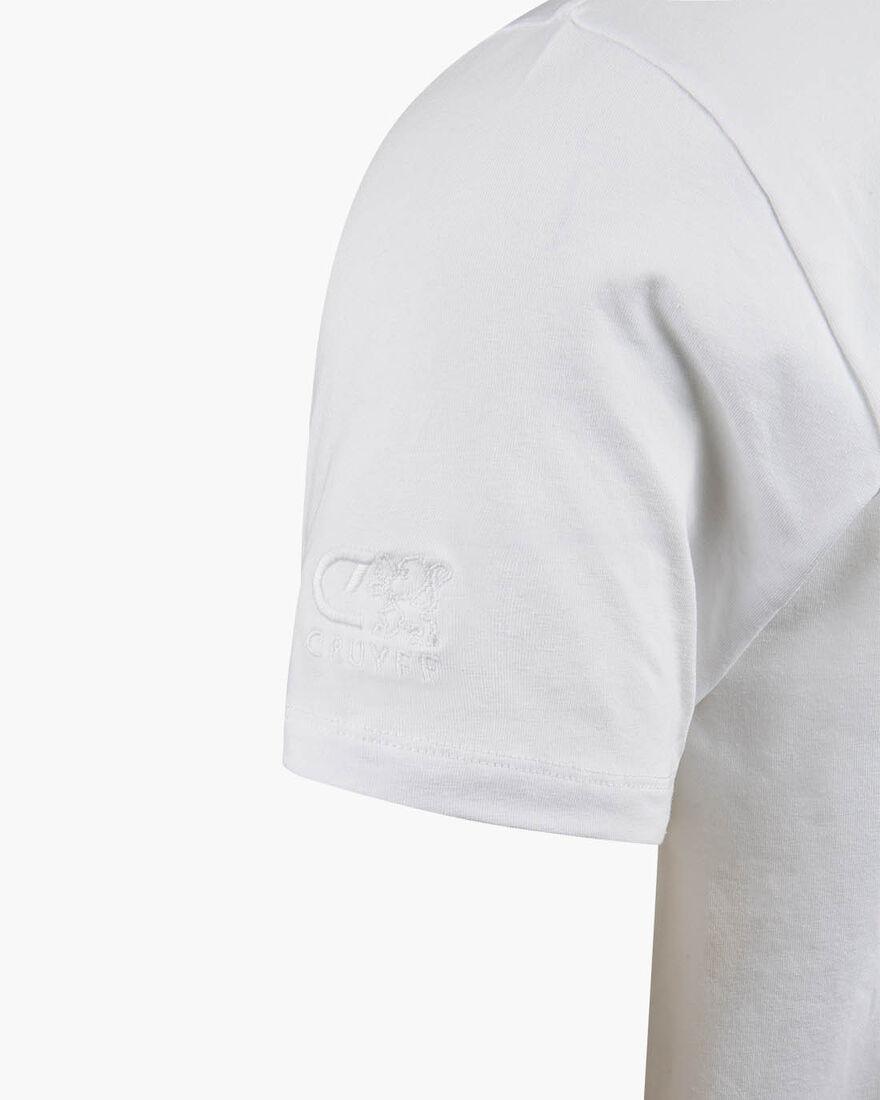 Cruyff Memorial Tee AMS, White, hi-res