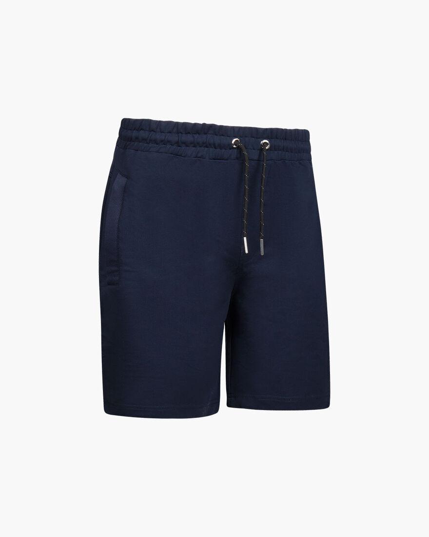 Bassa Short - Navy - 50% Cotton / 45% Polyester / , Navy, hi-res