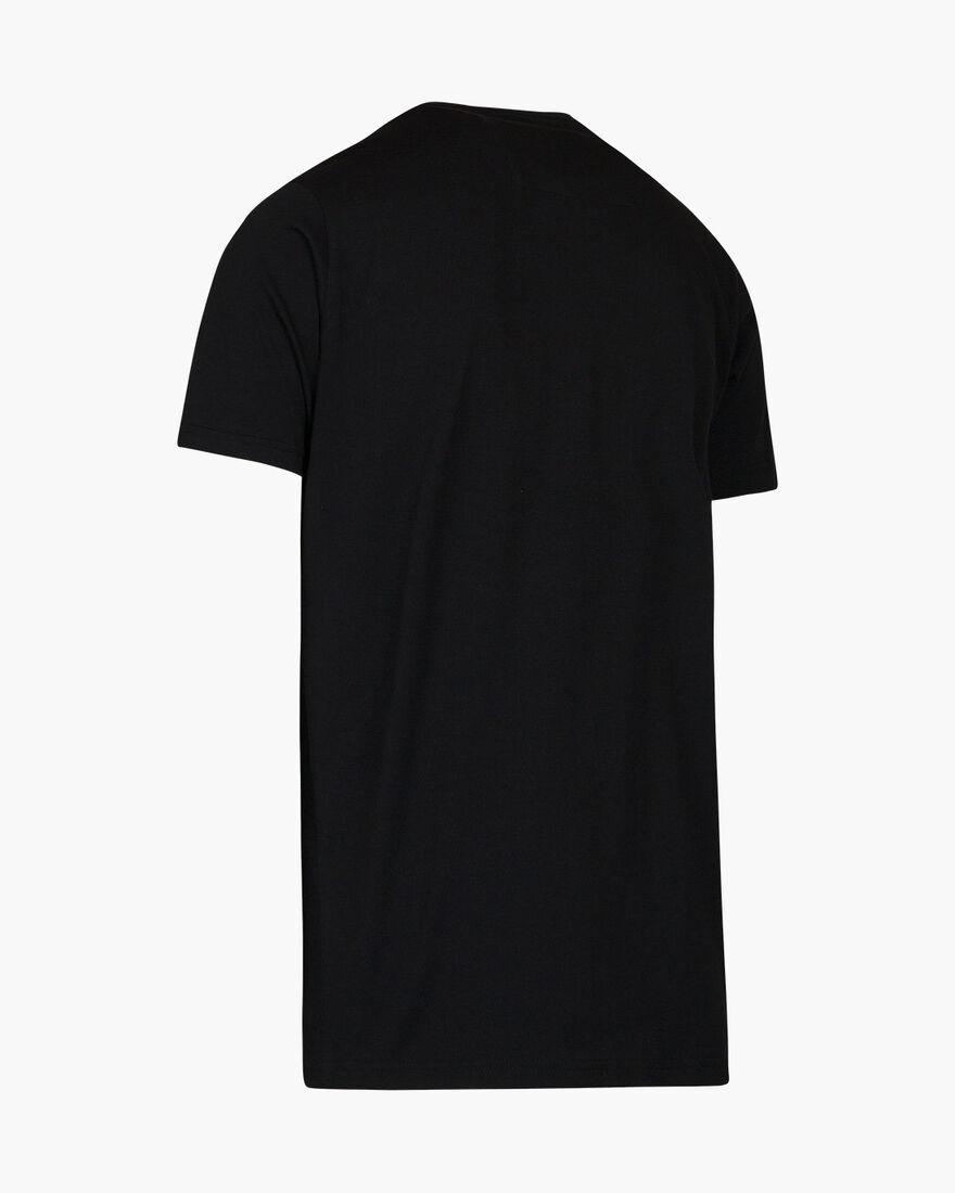Pionero SS Tee - Black - 100% cotton, Black, hi-res