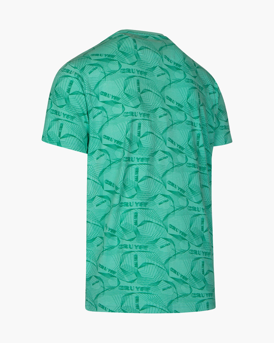 Aleix SS Tee - Mint - 100% cotton, Blue, hi-res