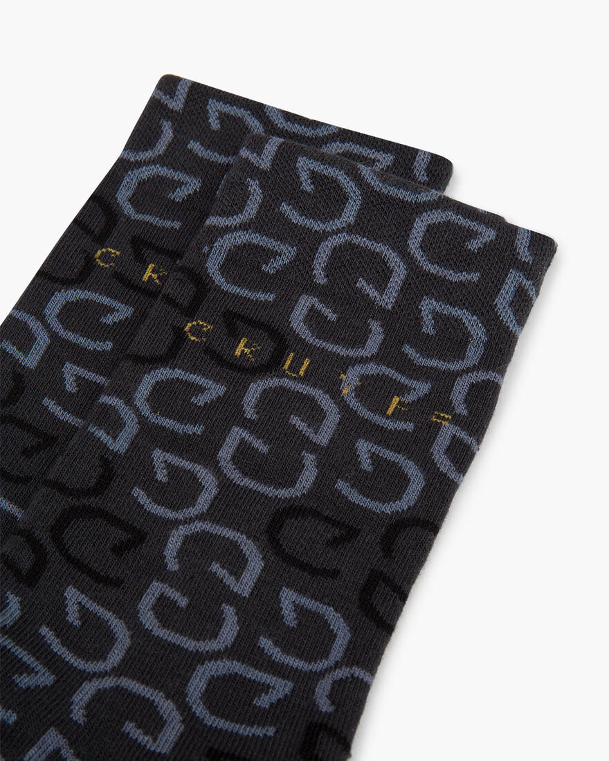 Sport Lux Capital C Socks, Black, hi-res