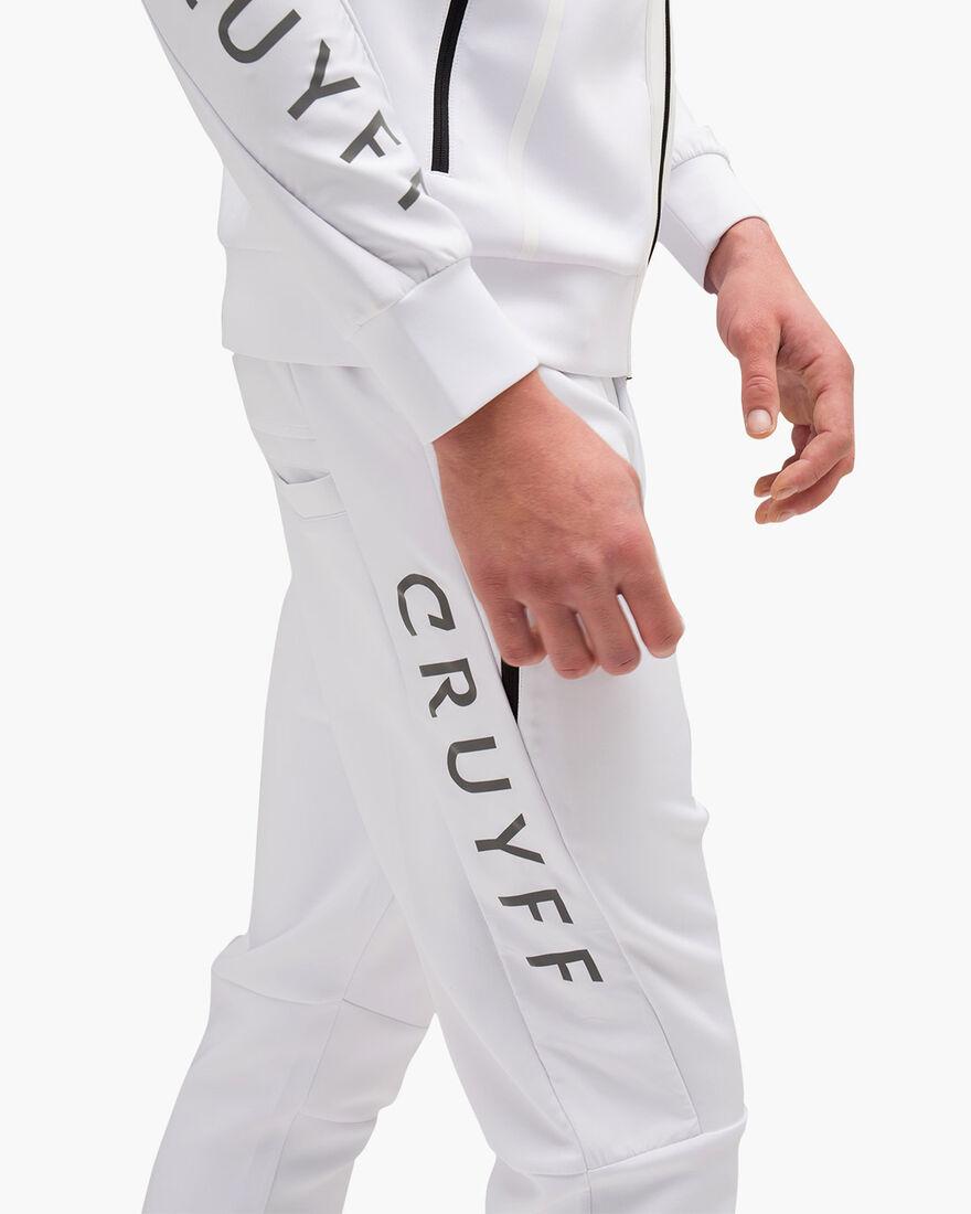 Lusso Scuba Pants - White - 95% Polyester / 5% Ela, White, hi-res