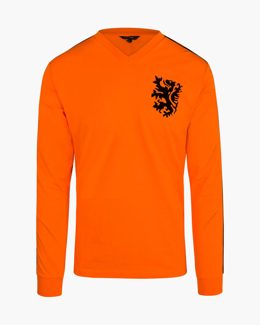 World Cup Tee LS - Orange - 95% polyester / 5% ela, Orange, hi-res
