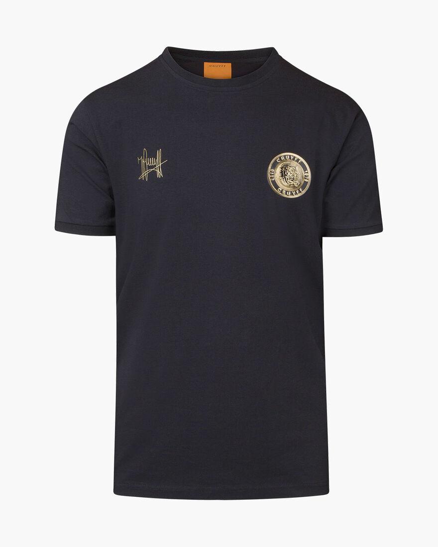 Valentini T-Shirt - Black - 100% Cotton, Black, hi-res
