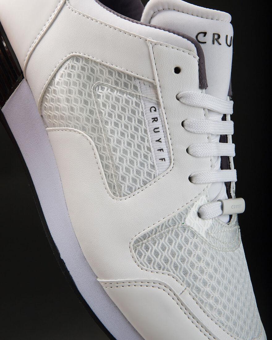 Lusso Contour - White - Geometric Mesh/Matt, White/White, hi-res
