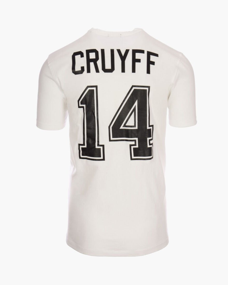 Cruyff Signature Tee 2-pack, White/Black, hi-res