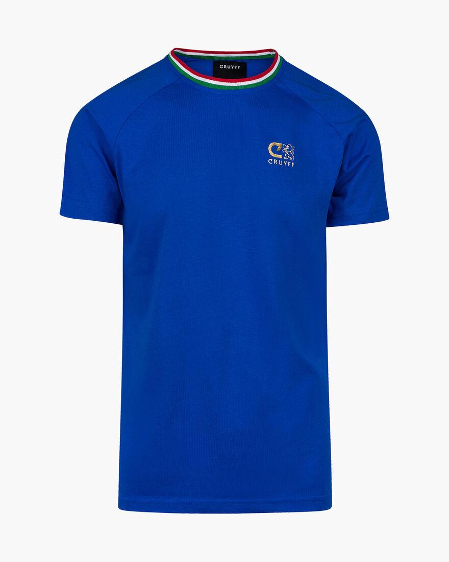 Euro Casual Tee Italy, Royal Blue, hi-res