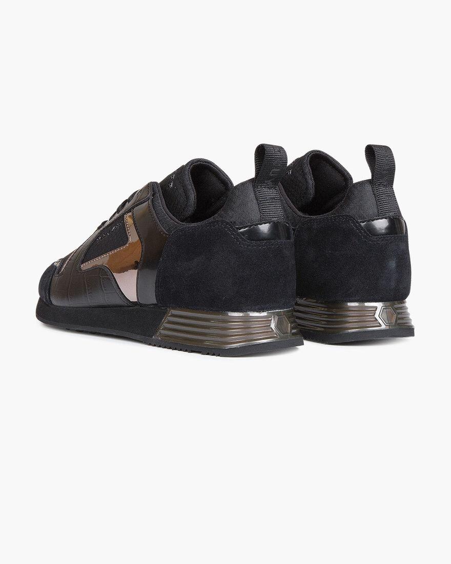 Lusso - Black - Translucent Ribstop/Dull Croco, Black/Black, hi-res