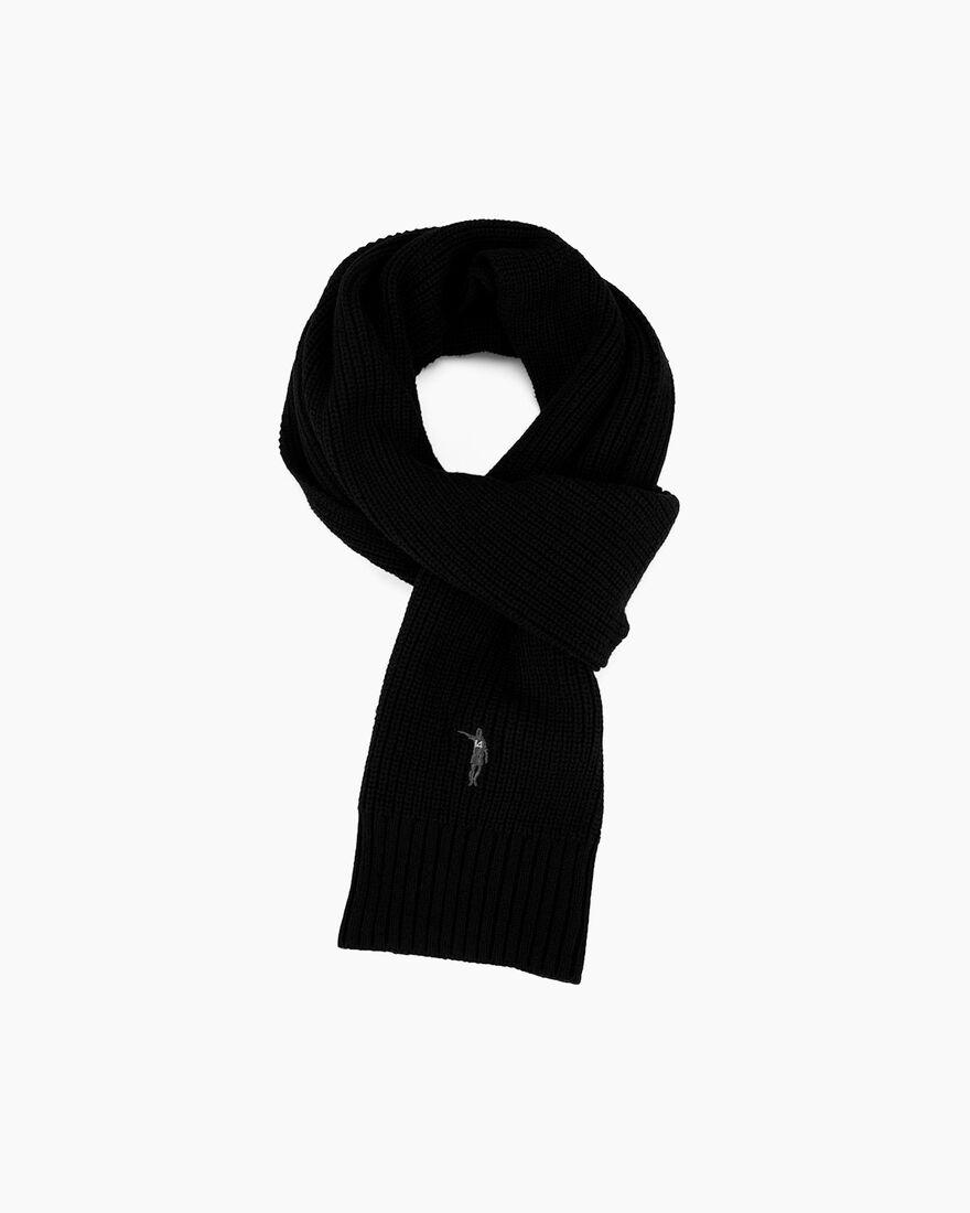 Cruyff Legacy Scarf, Black, hi-res