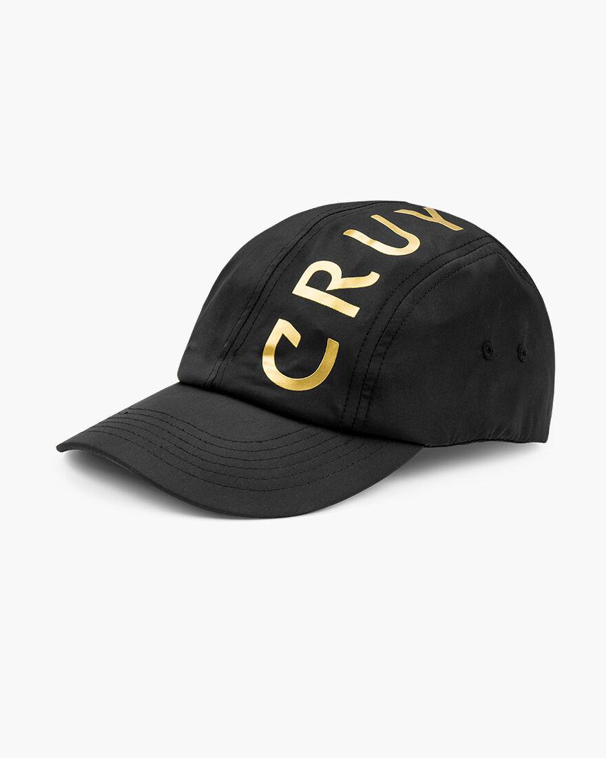 Gold Signature Cap - Black, Black, hi-res