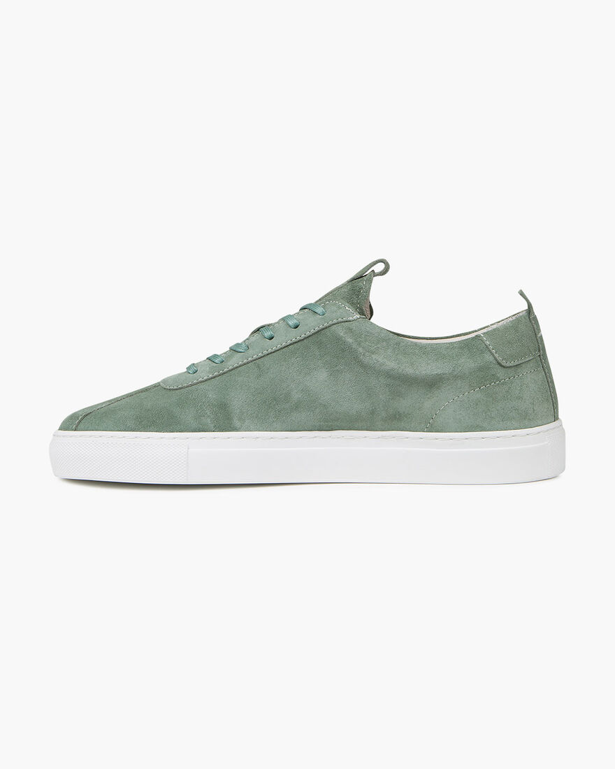 Architect - White - Sciarada Softy Suede, Green, hi-res