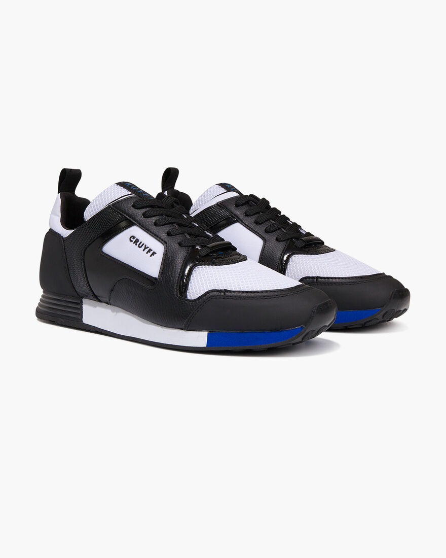 Lusso - White/Max Blue - XL Mesh/Vernice, Black/White, hi-res