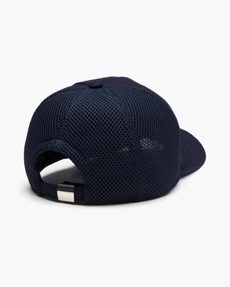 Wool Cap, Navy, hi-res