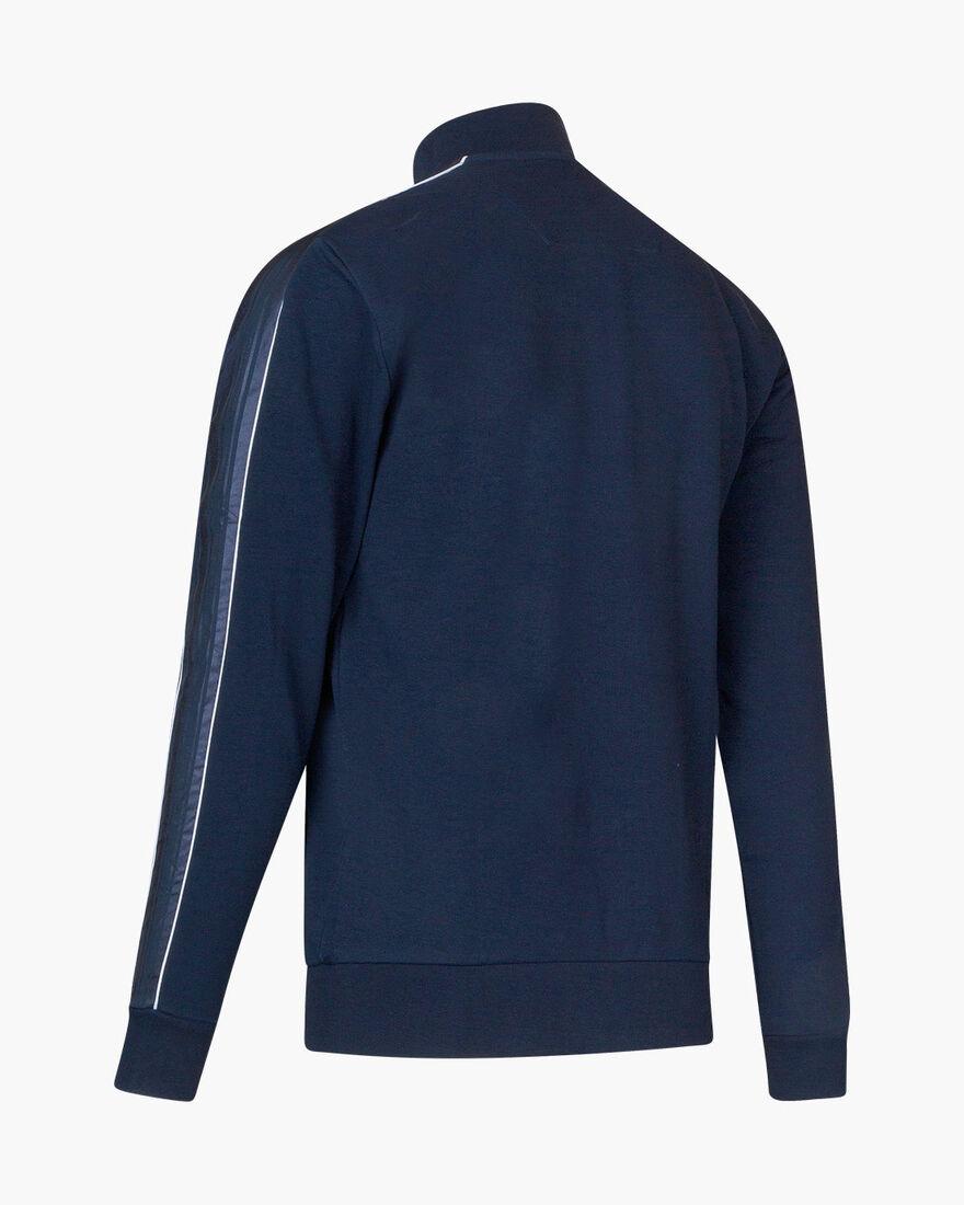 Joan track top - Black - 80% Cotton/ 20% Polyester, Navy, hi-res