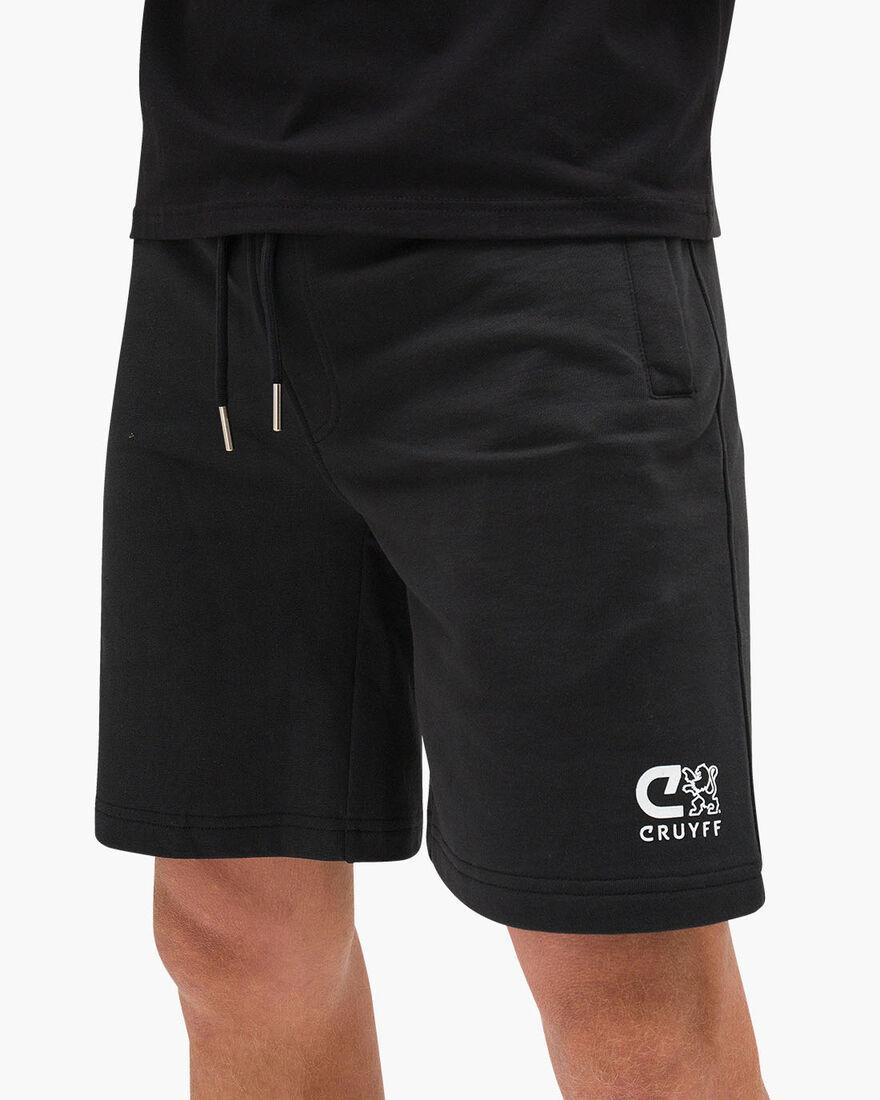 Hernandez Short - Grey melange - 100% Cotton, Black, hi-res