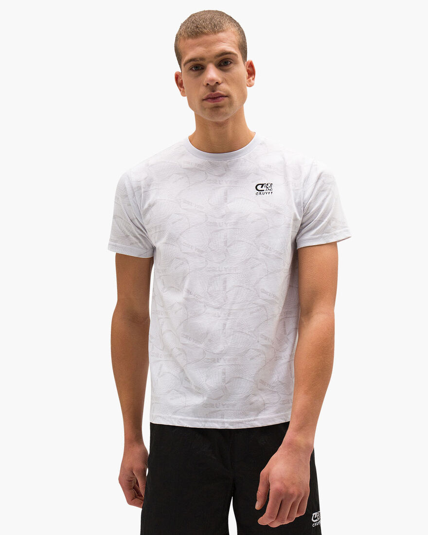 Aleix SS Tee - Mint - 100% cotton, White, hi-res