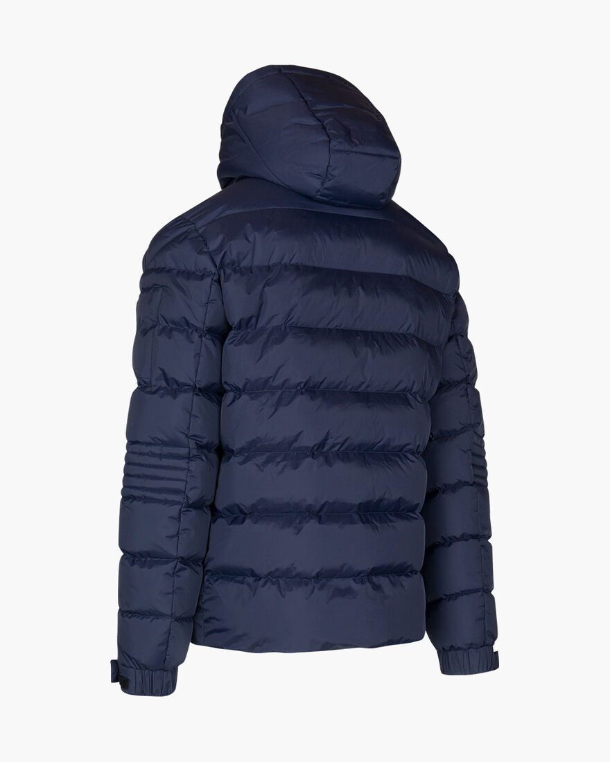 Veneto Quilted Jacket - Navy - 100% Polyamide, Navy, hi-res