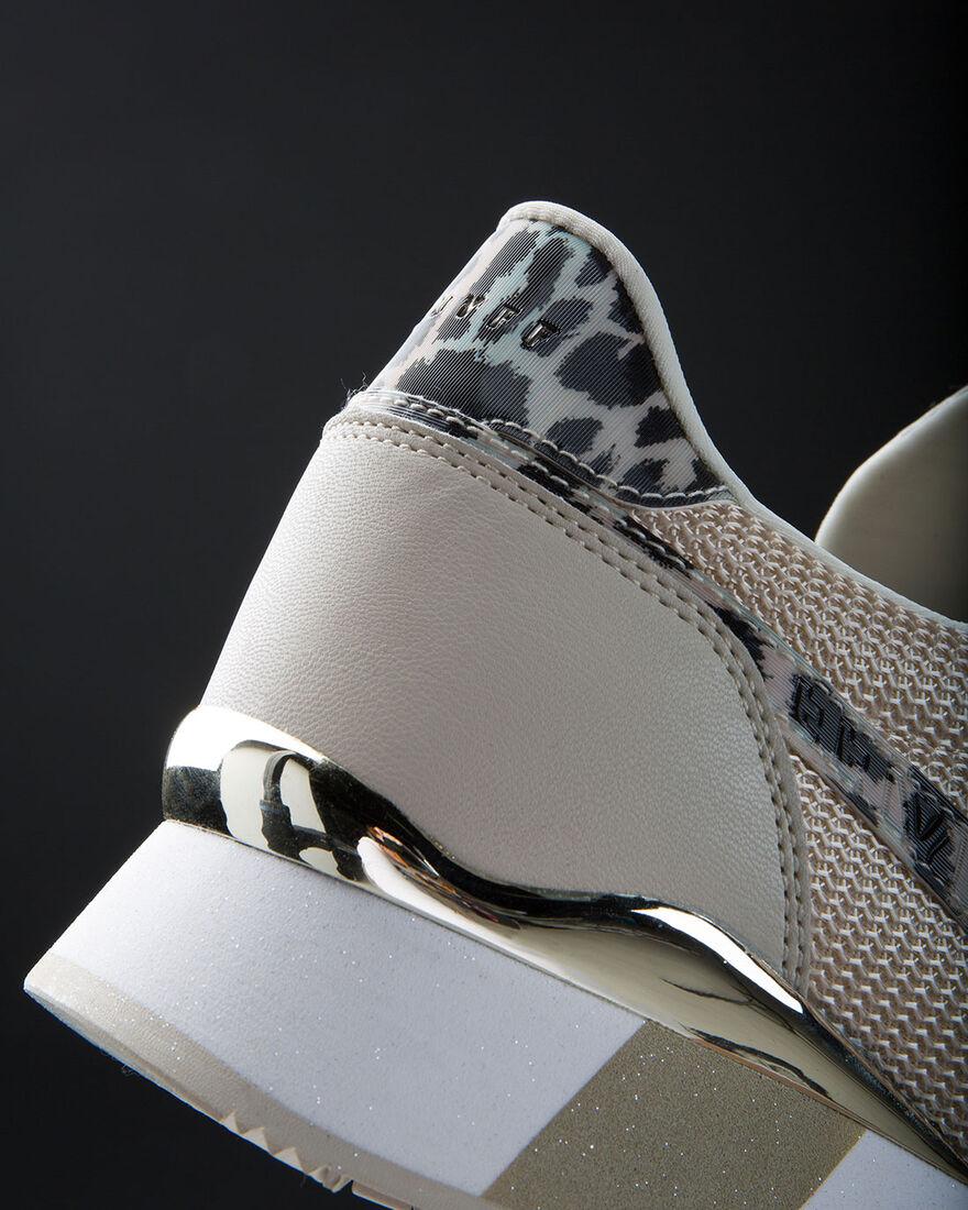 Parkrunner - Champagne/ Technica Leopard - Net Mes, Crème, hi-res
