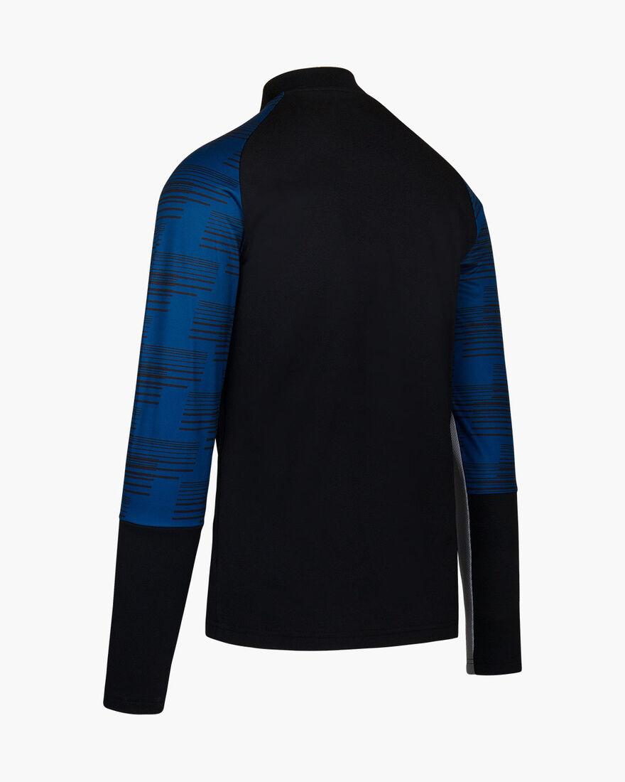 Rosario Half-zip Track Suit - Black/Gold - 100% Po, Black/Blue, hi-res