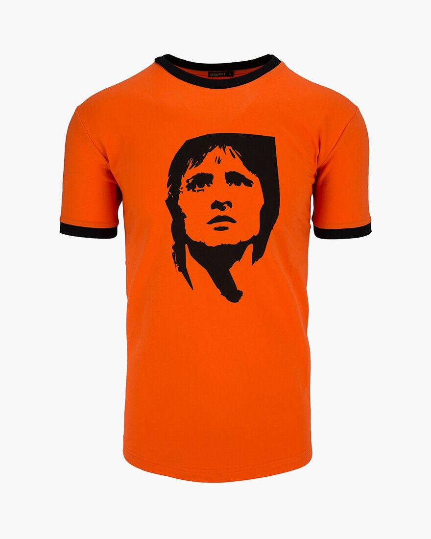 Cruyff Icon Tee, Orange, hi-res
