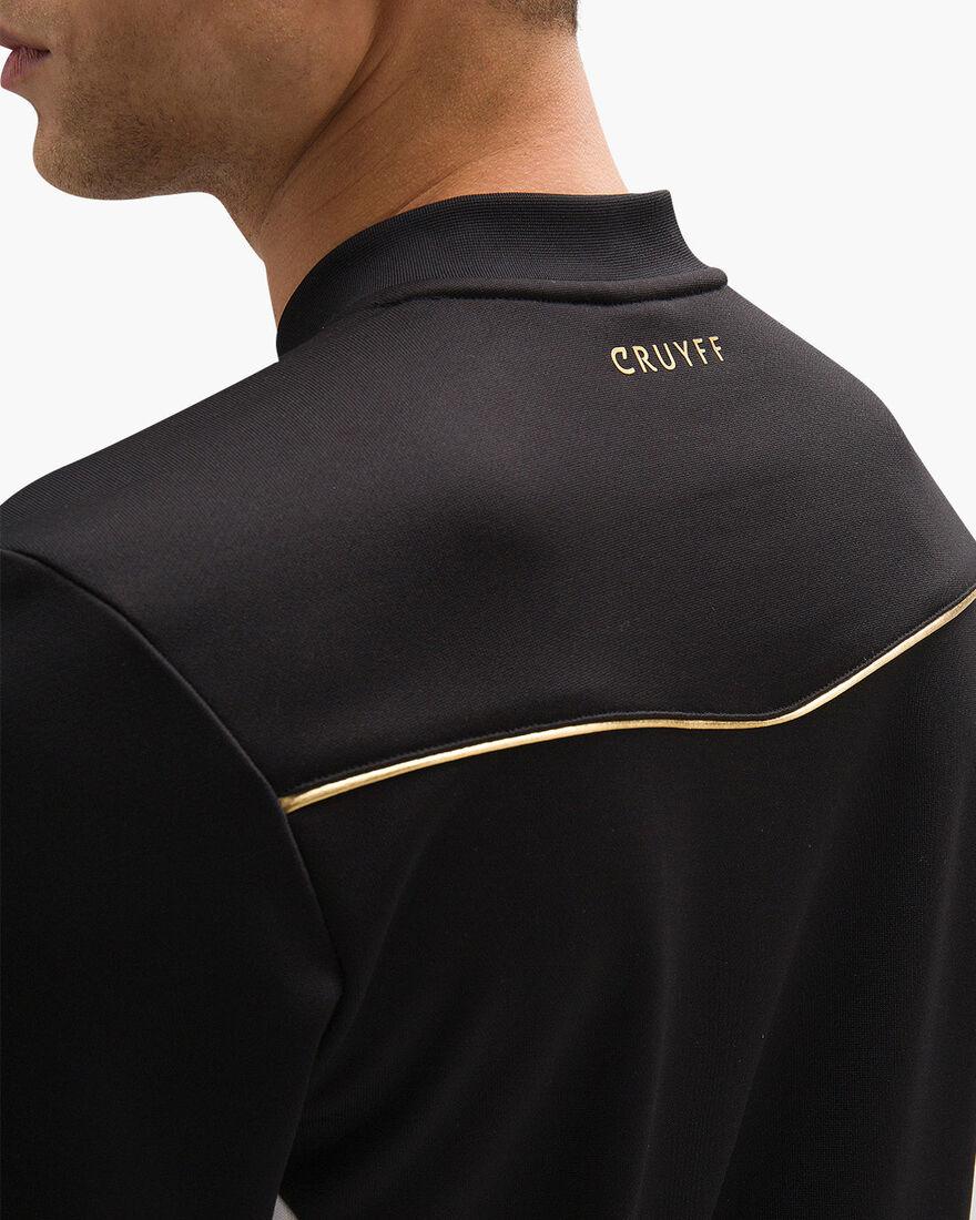 Miquel FZ-Track Suit - Navy - 100% Polyester, Black, hi-res