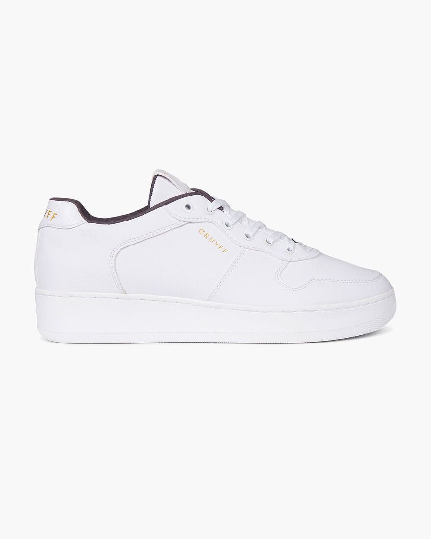 Indoor Royal - White - Tumbled/Matt Croco, White, hi-res