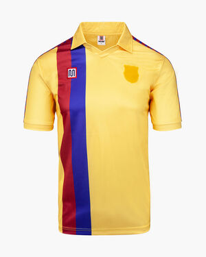 Barcelona Away 1981-1990