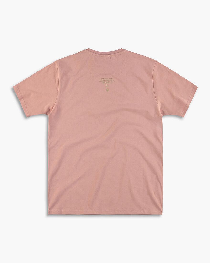 Cruyff x Banlieue Tee  SS - Black - 100% Cotton, Pink, hi-res