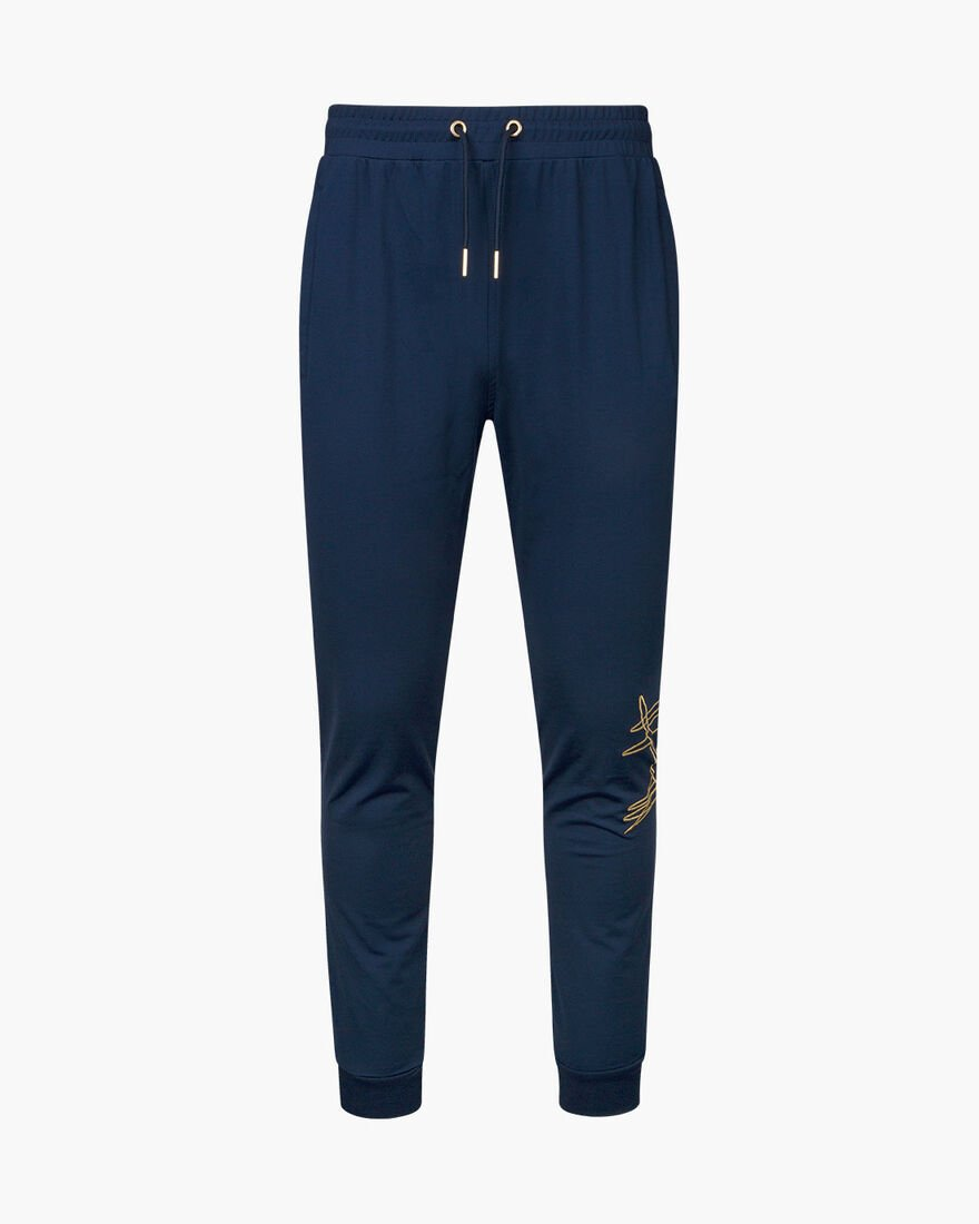 Paolo Pant - Grey - 95% polyester / 5% elastane, Navy, hi-res