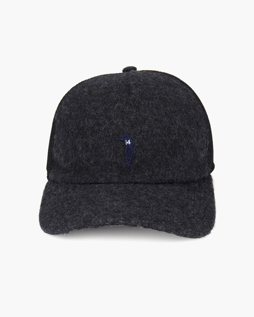 Wool Cap, Grey, hi-res