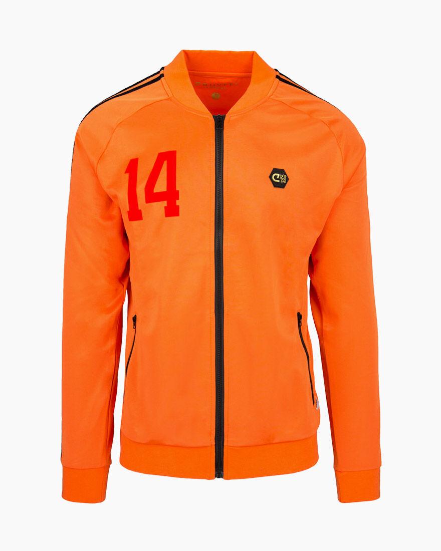World Cup 1974 Track Top, Orange, hi-res