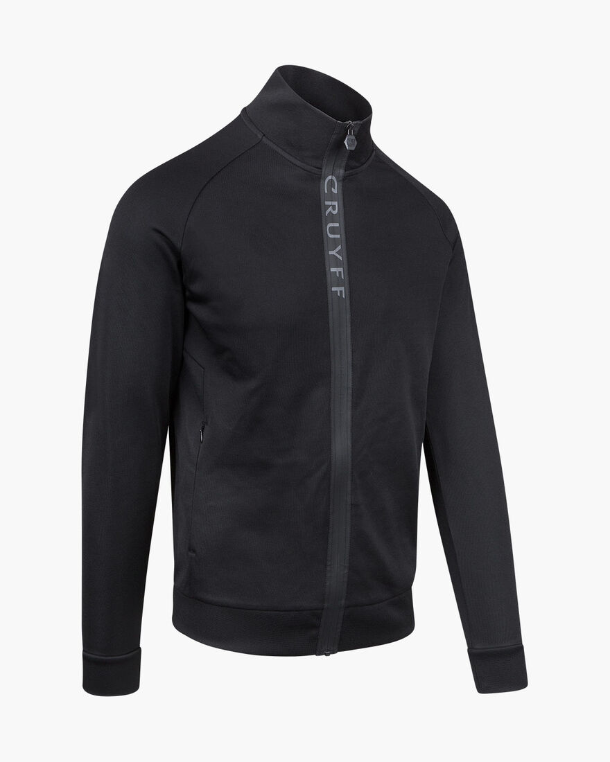 Salva Track top, Black, hi-res