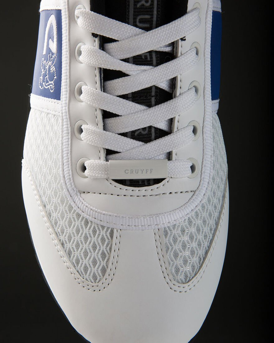 Warm Up Matte - Black - Teknit Mesh/Matt, White/Blue, hi-res