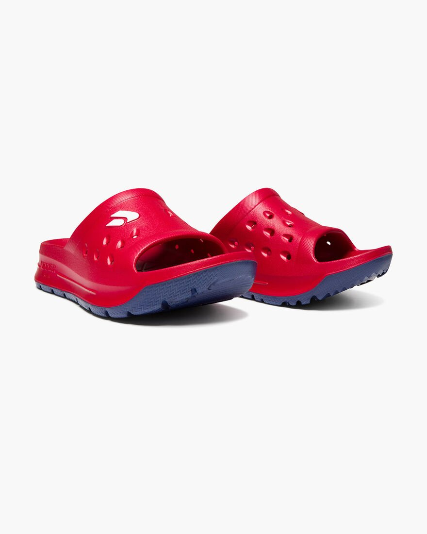 Recovery Sandal - Navy, Red, hi-res
