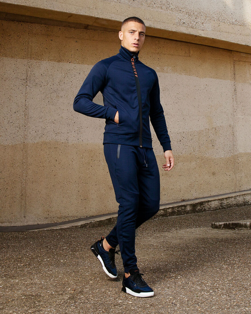 Riba Track top, Navy, hi-res