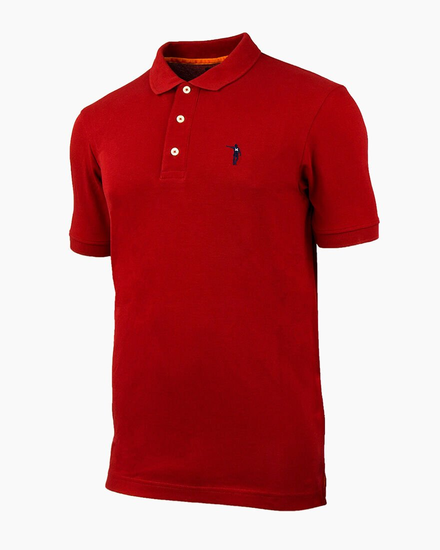 Maestro SS Polo, Red, hi-res